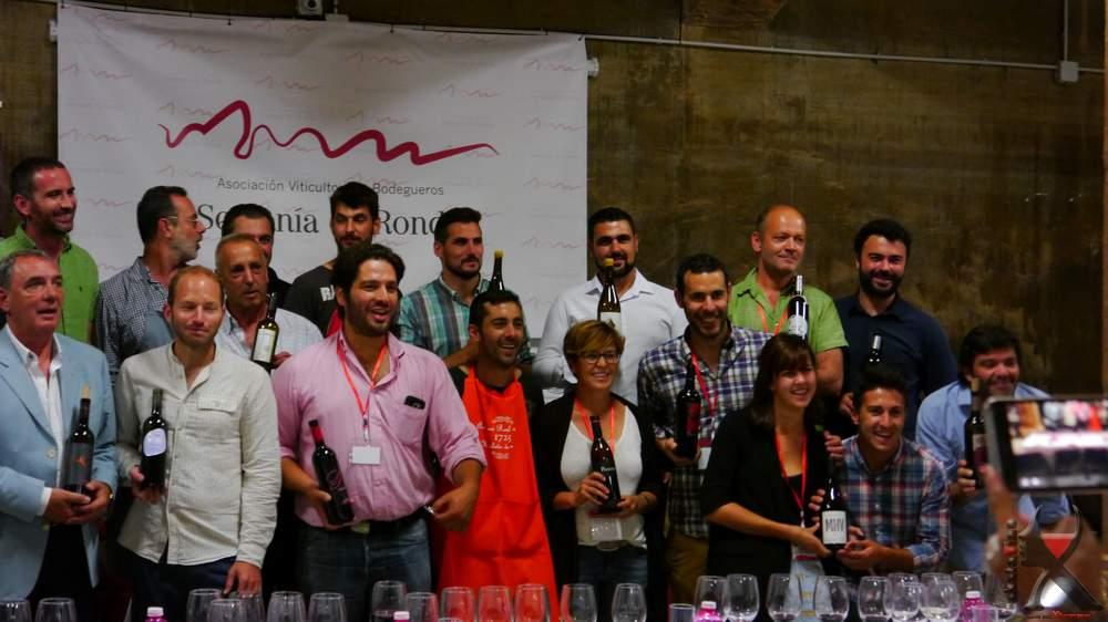 Ronda vino a vino marca tendencia logrando ser trending topic en España durante 9 horas.